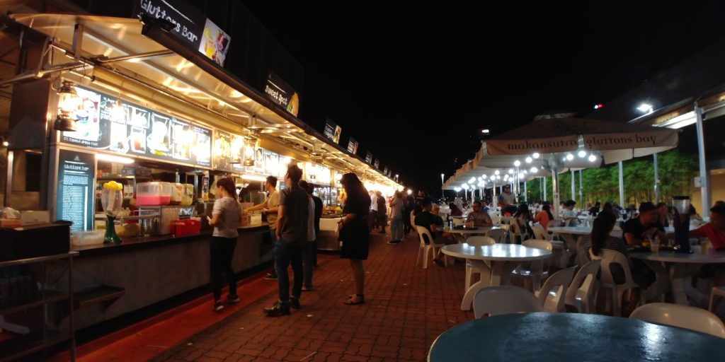 street food in Asia, Asian street food, electric wheelchair, accessible travel