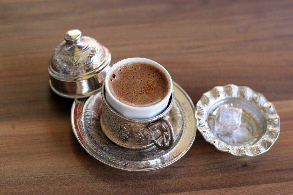 coffee, food in Asia, Dubai coffee, electric wheelchair