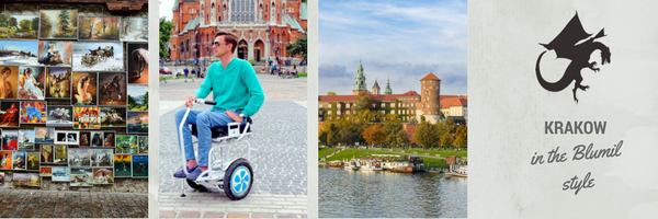 Kraków in an electric wheelchair, accessible travel, travel in an electric wheelchair, wheelchair friendly tourism