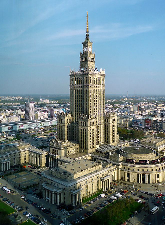 Palace of Culture & Science, Warsaw, Poland, electric wheelchair, Warsaw for manual and electric wheelchair users, accessible Warsaw, accessibility in Warsaw, wheelchair friendly Warsaw, accessible vacations