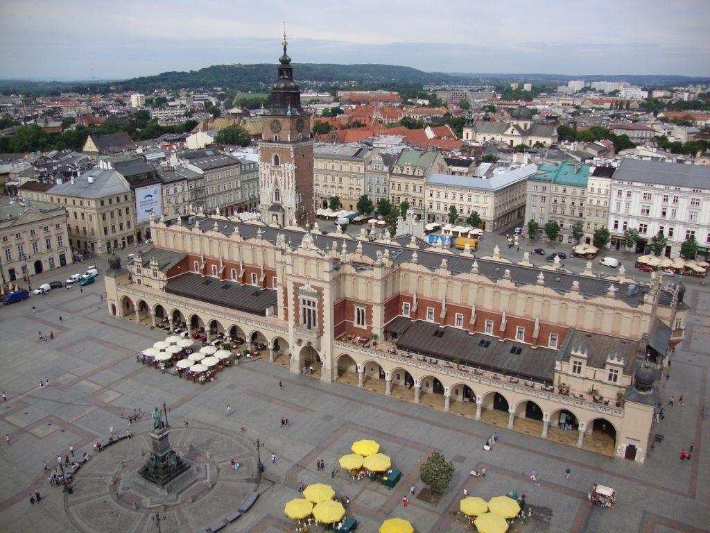 the cloth hall, sukiennice, Krakow, Poland, wheelchair friendly Krakow, electric wheelchair, krakow in an electric wheelchair, accessible krakow, accessibility in Krakow