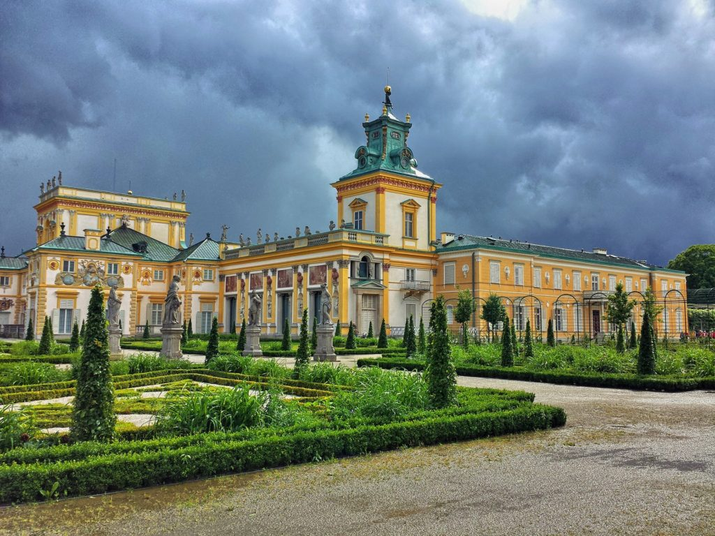 Wilanów Palace, Warsaw, Poland, accessibility in Warsaw, electric wheelchair, Warsaw for manual and electric wheelchair users, wheelchair friendly Warsaw.