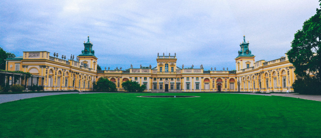 Wilanów Palace, Warsaw, electric wheelchair, Warsaw in a wheelchair, accessible travel, traveling in a wheelchair