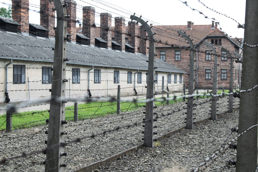 Auschwitz concentration camp, Poland, places in Poland to visit, accessible travel, electric wheelchair, wheelchair friendly Poland, Poland in a wheelchair, accessibility in Poland