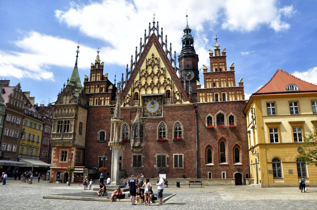 Wrocław, Poland, The Old Town Hall, electric wheelchair, accessible Wrocław, Wrocław in a wheelchair, accessible travel, wheelchair friendly travel, Poland in a wheelchair, wheelchair friendly Poland