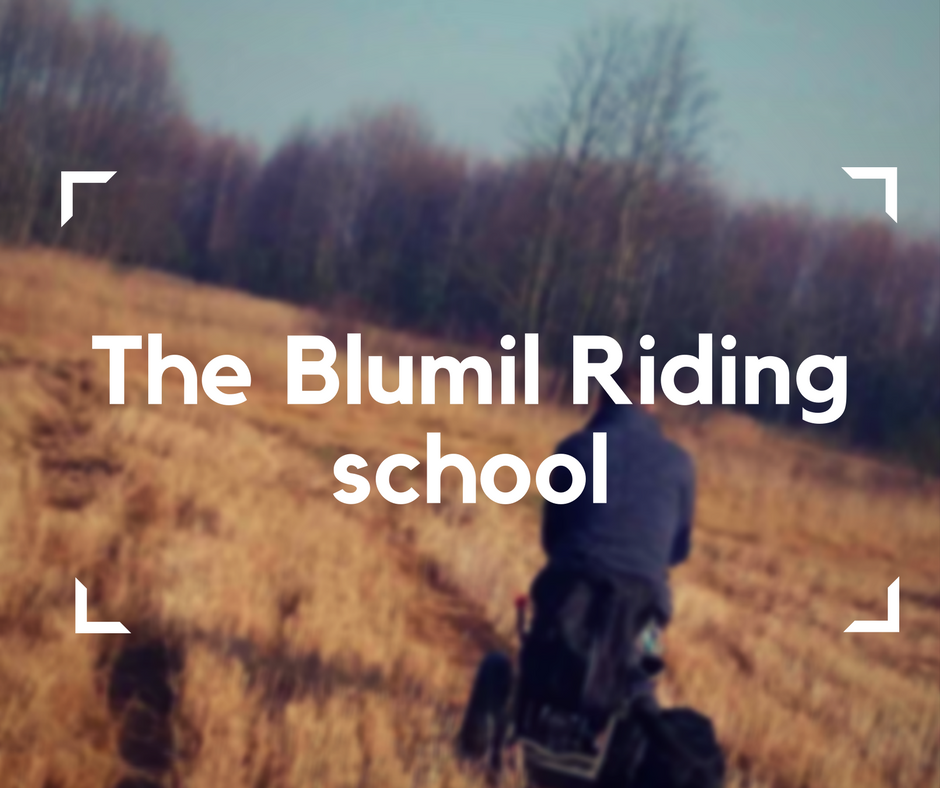 The Blumil Riding school, how to ride a Blumil electric wheelchair, accessible travel