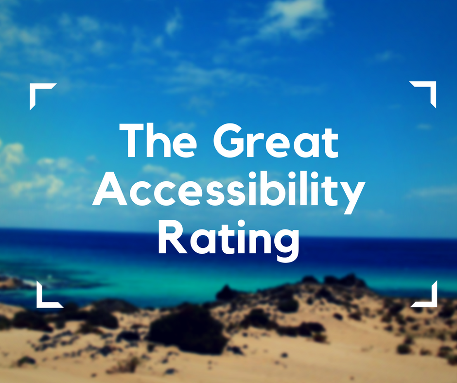 The Great Accessibility Rating, electric wheelchair travel, accessible travel destinations, inaccessible travel destinations