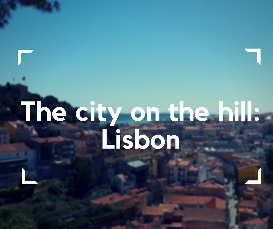 Lisbon, the city on the hill, accessible traveling, travel with an electric wheelchair