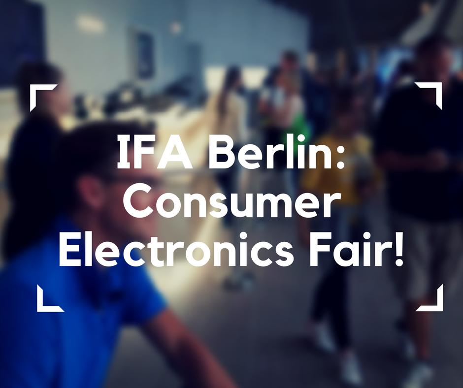 IFA Berlin, International Electronics Fair, 2017, electronics, electronics fair in Berlin, electric wheelchair Blumil, accessible traveling