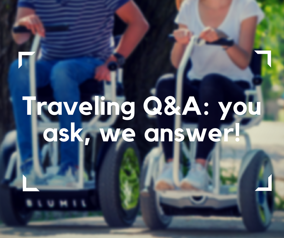 The post answers frequently asked questions about traveling with Blumil electric wheelchair. Accessible travel.