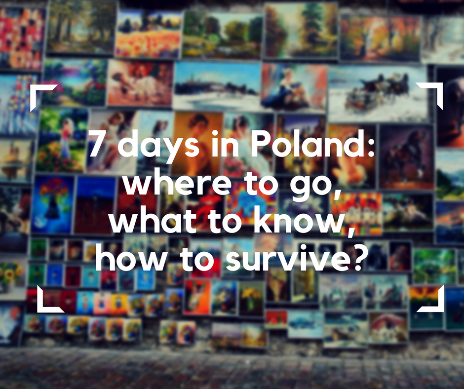 7 days in Poland, electric wheelchair, attractions in Poland, Poland's must-visit, electric wheelchair, Poland in a wheelchair