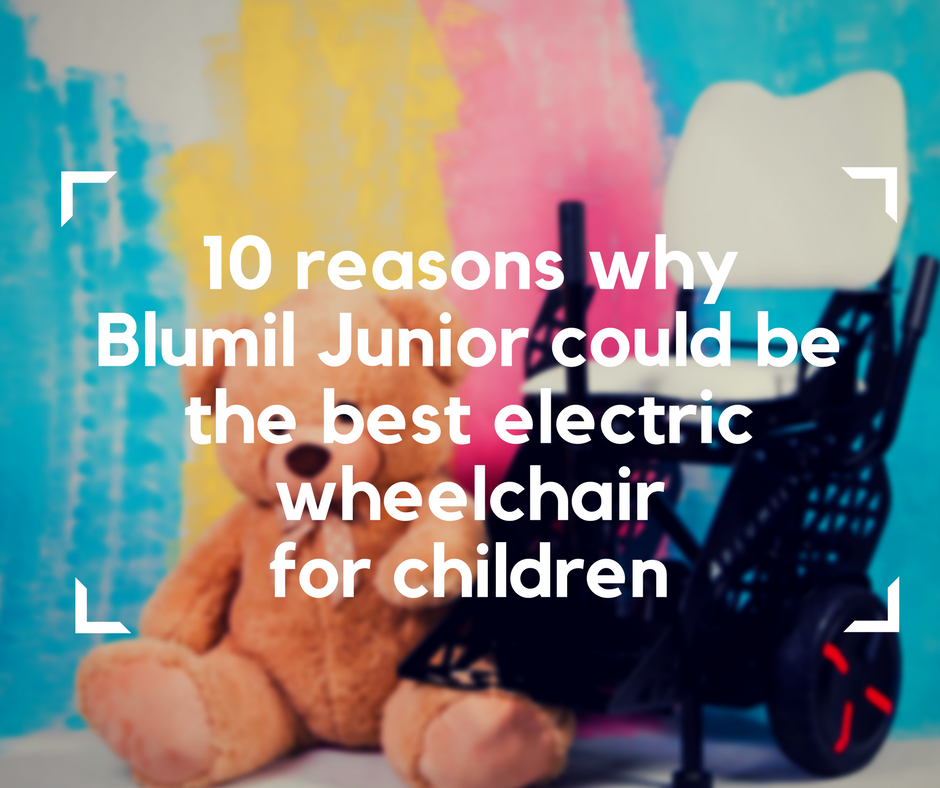 Blumil electric wheelchair, all-terrain wheelchair, kid wheelchair, a wheelchair for children, electric wheelchair for children, junior electric wheelchair, electric wheelchair for disabled children