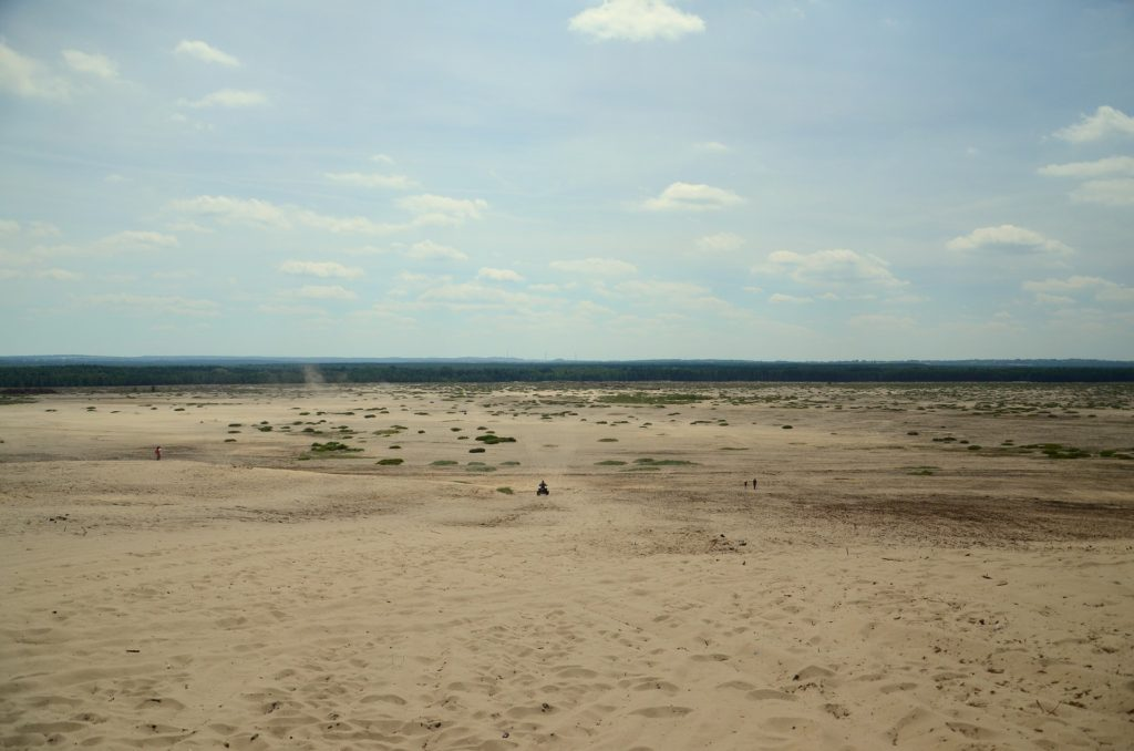 Desert in Poland, accessible Poland, Poland for wheelchair users, accessibility in Poland