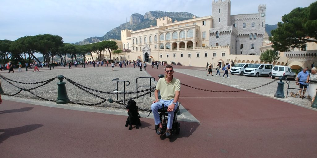 electric wheelchair, all-terrain electric wheelchair, beach electric wheelchair, wheelchair, best wheelchair, travel wheelchair, accessible travel, traveling in a wheelchair, Monaco, Monte Carlo, accessible Monaco, accessibility in Monaco, wheelchair friendly Monaco
