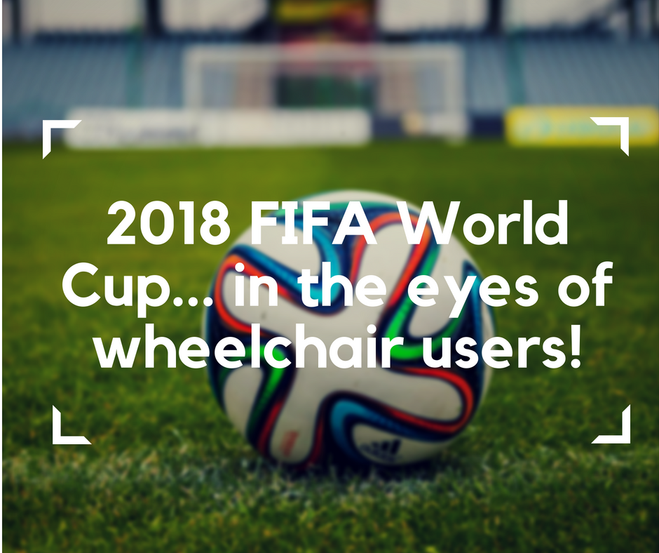 2018 FIFA World Cup, electric wheelchair, all-terrain electric wheelchair, football, World Cup in Russia